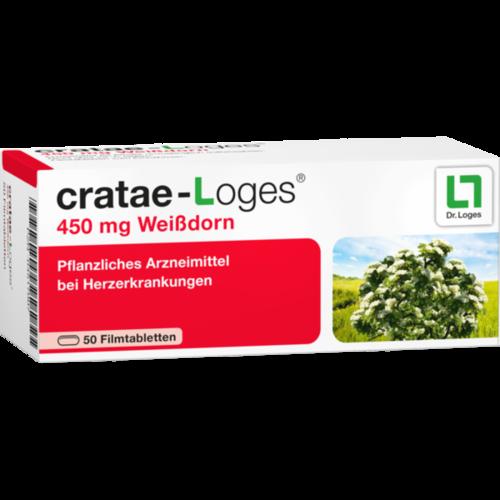 Verpackungsbild(Packshot) von CRATAE-LOGES 450 mg Filmtabletten