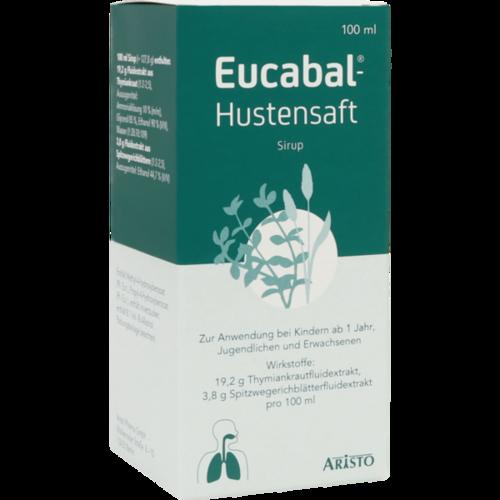 Verpackungsbild(Packshot) von EUCABAL Hustensaft