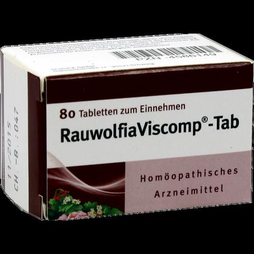 Verpackungsbild(Packshot) von RAUWOLFIAVISCOMP TAB Tabletten