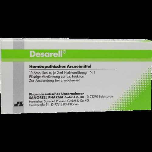 Verpackungsbild(Packshot) von DESARELL Ampullen