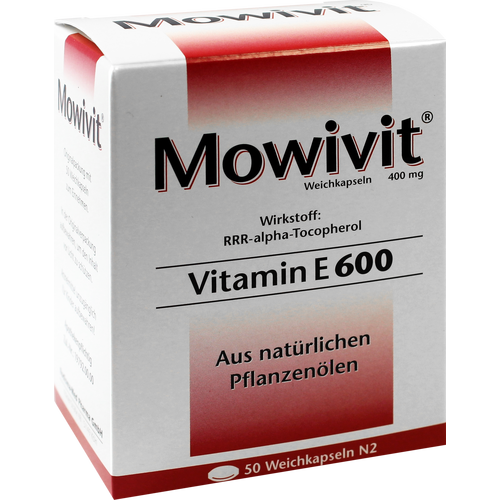 Verpackungsbild(Packshot) von MOWIVIT 600 Kapseln