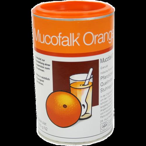 Verpackungsbild(Packshot) von MUCOFALK Orange Gran.z.Herst.e.Susp.z.Einn.Dose