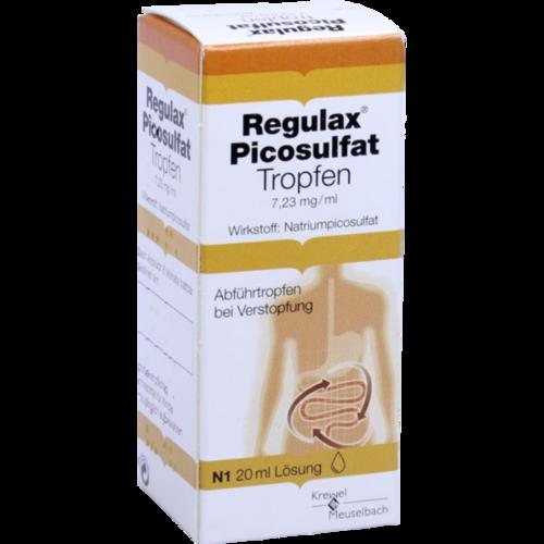 Verpackungsbild(Packshot) von REGULAX Picosulfat Tropfen