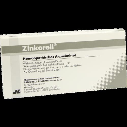 Verpackungsbild(Packshot) von ZINKORELL Ampullen