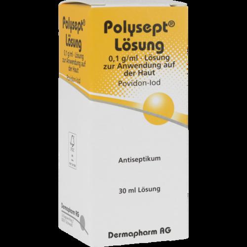 Verpackungsbild(Packshot) von POLYSEPT Lösung