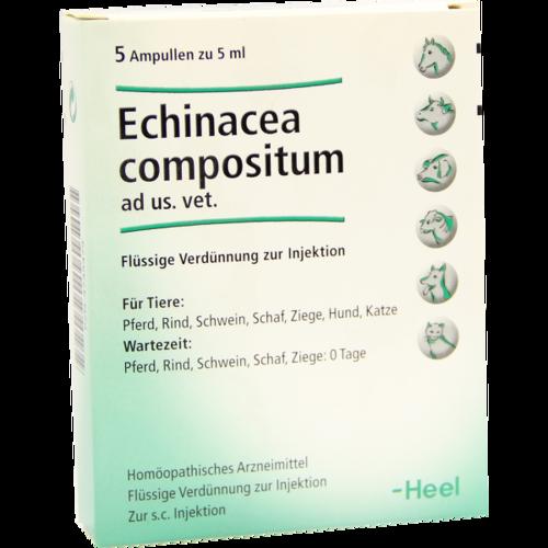 Verpackungsbild(Packshot) von ECHINACEA COMPOSITUM ad us.vet.Ampullen