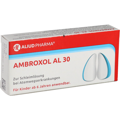 Verpackungsbild(Packshot) von AMBROXOL AL 30 Tabletten