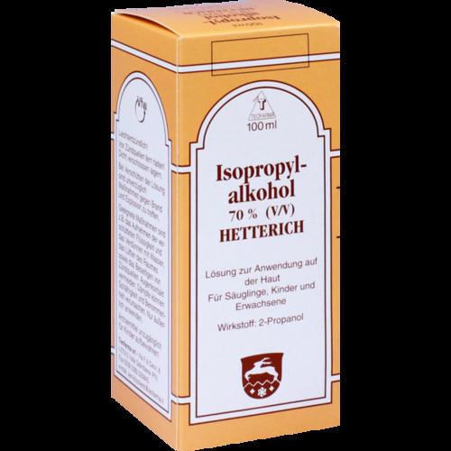Verpackungsbild(Packshot) von ISOPROPYLALKOHOL 70% V/V Hetterich