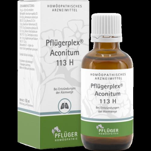 Verpackungsbild(Packshot) von PFLÜGERPLEX Aconitum 113 H Tropfen