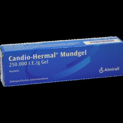 Verpackungsbild(Packshot) von CANDIO HERMAL Mundgel