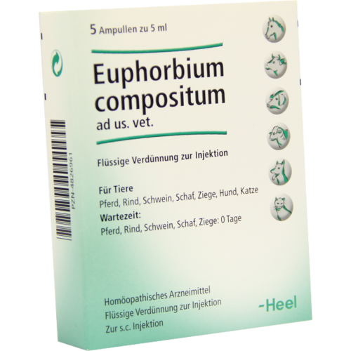 Verpackungsbild(Packshot) von EUPHORBIUM COMPOSITUM ad us.vet.Ampullen