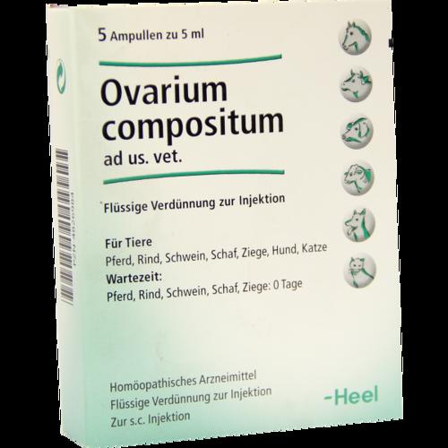 Verpackungsbild(Packshot) von OVARIUM COMPOSITUM ad us.vet.Ampullen
