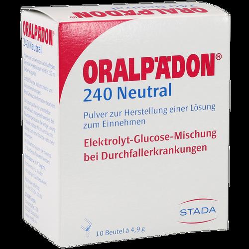 Verpackungsbild(Packshot) von ORALPÄDON 240 neutral Btl. Pulver