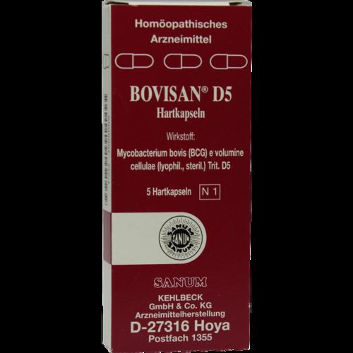 Verpackungsbild(Packshot) von BOVISAN D 5 Kapseln