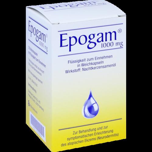Verpackungsbild(Packshot) von EPOGAM 1000 Weichkapseln