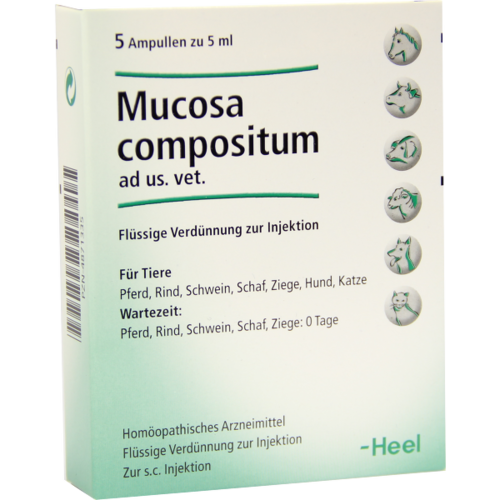 Verpackungsbild(Packshot) von MUCOSA compositum ad us.vet.Ampullen