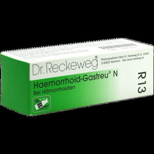 Verpackungsbild(Packshot) von HAEMORRHOID-Gastreu N R13 Mischung