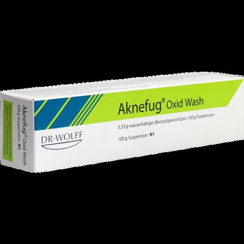 Verpackungsbild(Packshot) von AKNEFUG oxid Wash Suspension