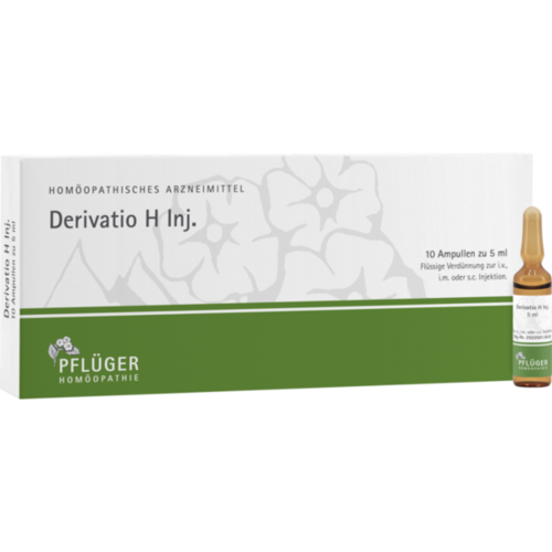 Verpackungsbild(Packshot) von DERIVATIO H Inj.Ampullen
