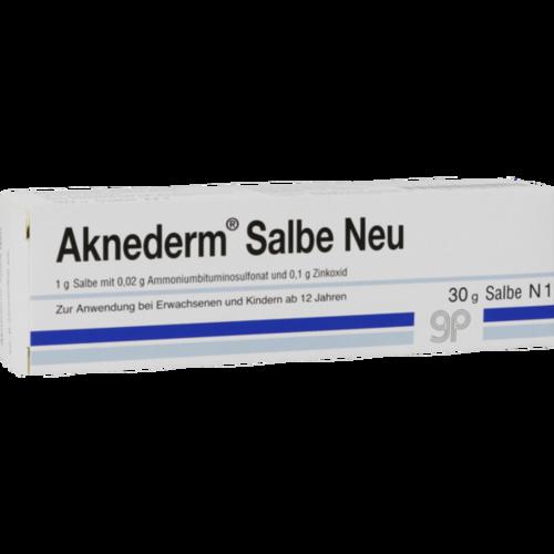 Verpackungsbild(Packshot) von AKNEDERM Salbe Neu