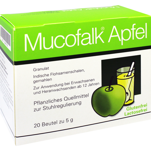 Verpackungsbild(Packshot) von MUCOFALK Apfel Gran.z.Herst.e.Susp.z.Einn.Beutel