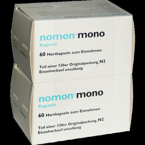 Verpackungsbild(Packshot) von NOMON mono Kapseln