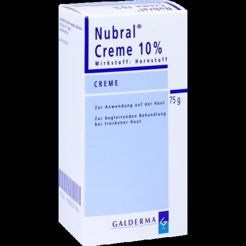 Verpackungsbild(Packshot) von NUBRAL Creme 10%