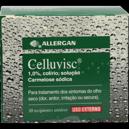 Verpackungsbild(Packshot) von CELLUVISC 1% Augentropfen