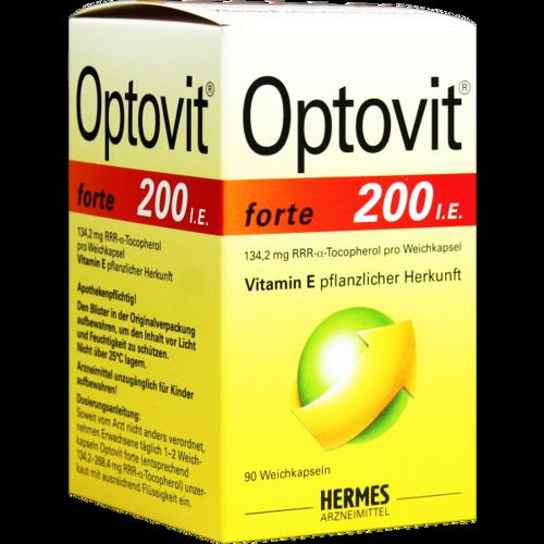 Verpackungsbild(Packshot) von OPTOVIT forte Kapseln