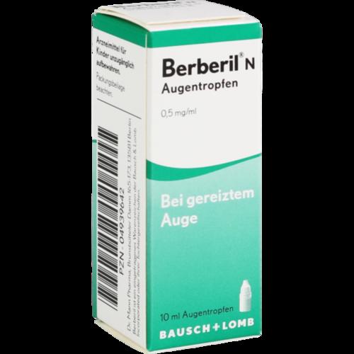 Verpackungsbild(Packshot) von BERBERIL N Augentropfen