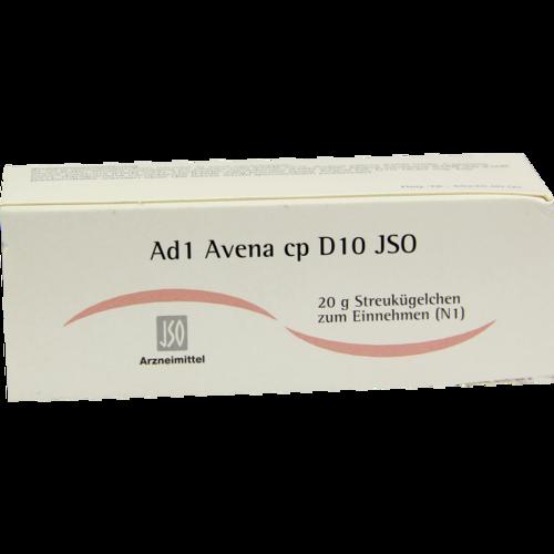 Verpackungsbild(Packshot) von JSO Ad 1 Avena cp D 10 Globuli
