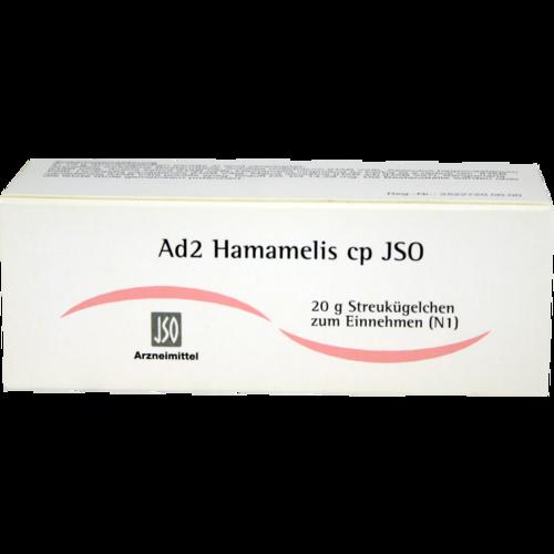 Verpackungsbild(Packshot) von JSO Ad 2 Hamamelis cp Globuli