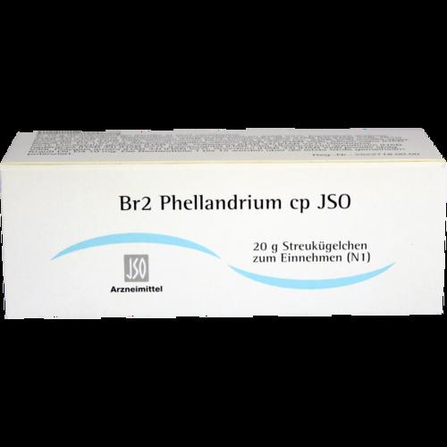 Verpackungsbild(Packshot) von JSO Br 2 Phellandrium cp Globuli