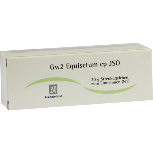 Verpackungsbild(Packshot) von JSO Gw 2 Equisetum cp Globuli
