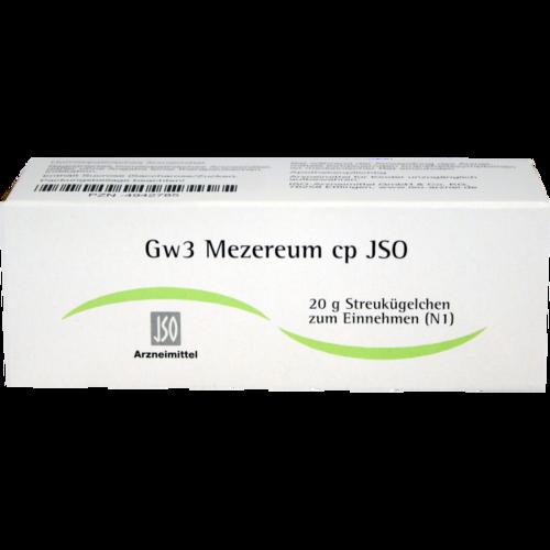Verpackungsbild(Packshot) von JSO Gw 3 Mezereum cp Globuli