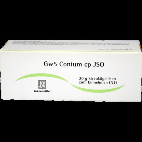 Verpackungsbild(Packshot) von JSO Gw 5 Conium cp Globuli