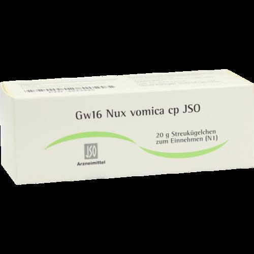 Verpackungsbild(Packshot) von JSO Gw 16 Nux vomica cp Globuli
