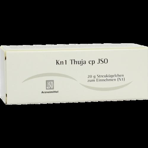 Verpackungsbild(Packshot) von JSO Kn 1 Thuja cp Globuli