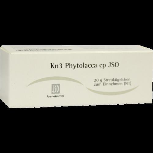 Verpackungsbild(Packshot) von JSO Kn 3 Phytolacca cp Globuli
