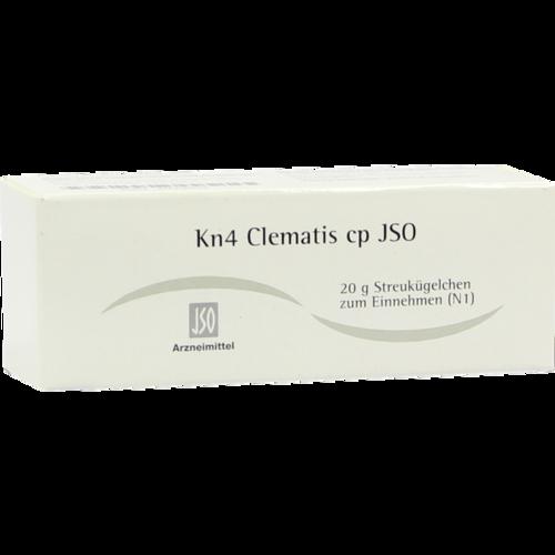 Verpackungsbild(Packshot) von JSO Kn 4 Clematis cp Globuli
