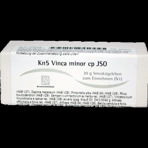 Verpackungsbild(Packshot) von JSO Kn 5 Vinca minor cp Globuli