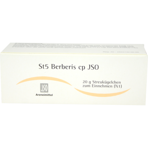 Verpackungsbild(Packshot) von JSO St 5 Berberis cp Globuli