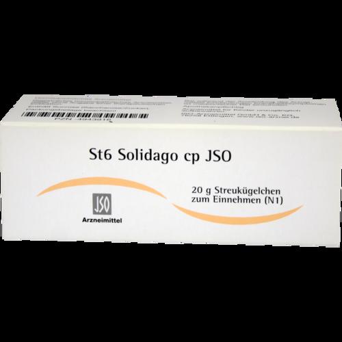 Verpackungsbild(Packshot) von JSO St 6 Solidago cp Globuli