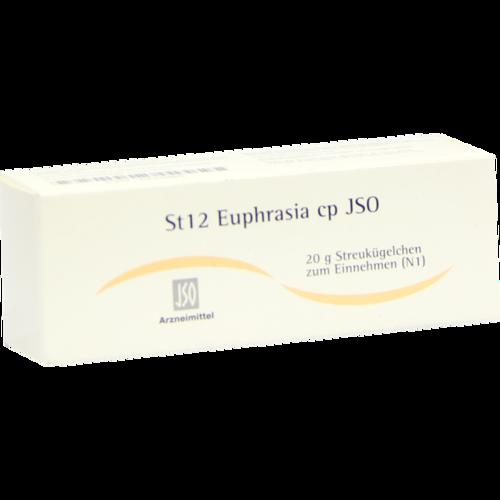 Verpackungsbild(Packshot) von JSO St 12 Euphrasia cp Globuli