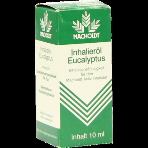 Verpackungsbild(Packshot) von MACHOLDT Inhalieröl Eukalyptus