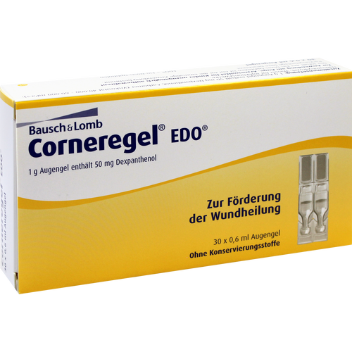 Verpackungsbild(Packshot) von CORNEREGEL EDO Augengel