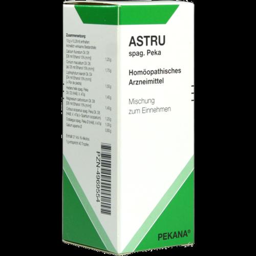 Verpackungsbild(Packshot) von ASTRU spag.Peka Tropfen