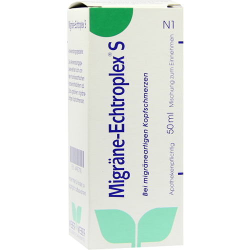 Verpackungsbild(Packshot) von MIGRÄNE ECHTROPLEX S Mischung