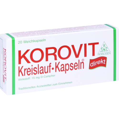 Verpackungsbild(Packshot) von KOROVIT Kreislauf-Kapseln