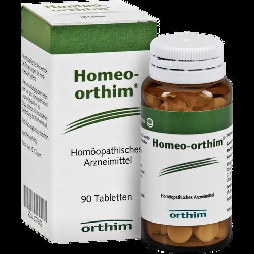 Verpackungsbild(Packshot) von HOMEO ORTHIM Tabletten